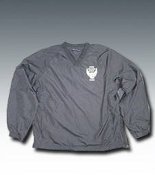 Golf Windshirt V-Neck - Black